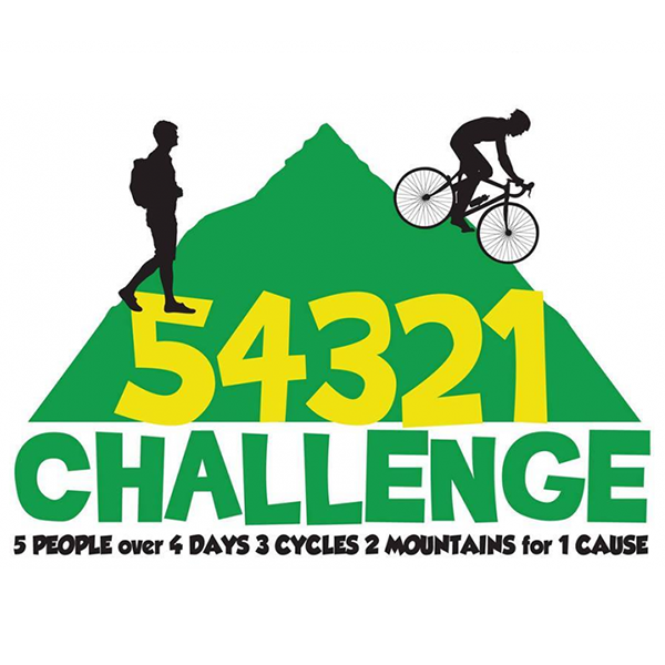 5 people over 4 days, 3 cycles, 2 mountains, for 1 cause
