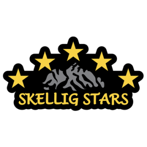 Skellig Stars - a Voluntary Athletics Club based in Cahersiveen, Co. Kerry, that train 23 athletes; adults and children of all ages that have an intellectual disability